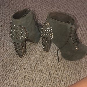 Jeffrey Campbell lita spike ankle booties